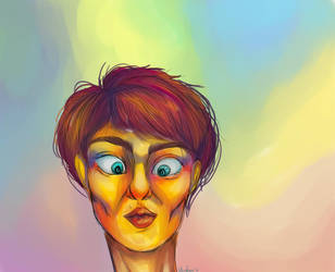Woah Thats A Lot Of Color Mate by umhoi