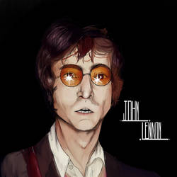 John Lennon by umhoi