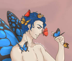 Butterfly by PerotiBia