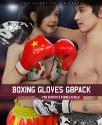 [WIP] Boxing Gloves G8Pack For G8F, G8M by gravureboxing