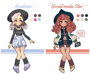 Modern Witch Adopts - [CLOSED] by Cafhune