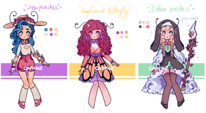 Nature Themed Braythe Adopts - [OPEN] by Cafhune
