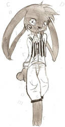 March Hare -Do mind the lady- by Cookie-the-Jester