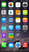 iOS 8 Theme for EMUI 3.0 by Nesssy