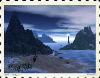 Night on the Coast by tina1138