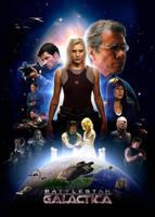 Battlestar Galactica poster by mruottin