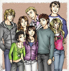The Cullen Family by amandioka