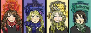 Hogwart's Girls by amandioka