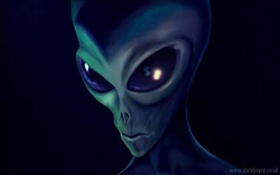 Grey Alien by Harnois75