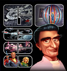 Gerry Anderson montage by Harnois75