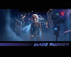 Blade Runner poster by Harnois75