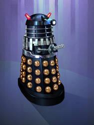 Black Dalek by Harnois75