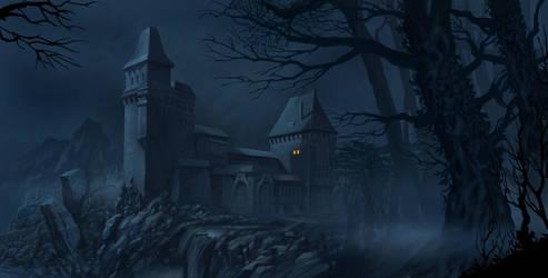 Castle Dracula by Harnois75