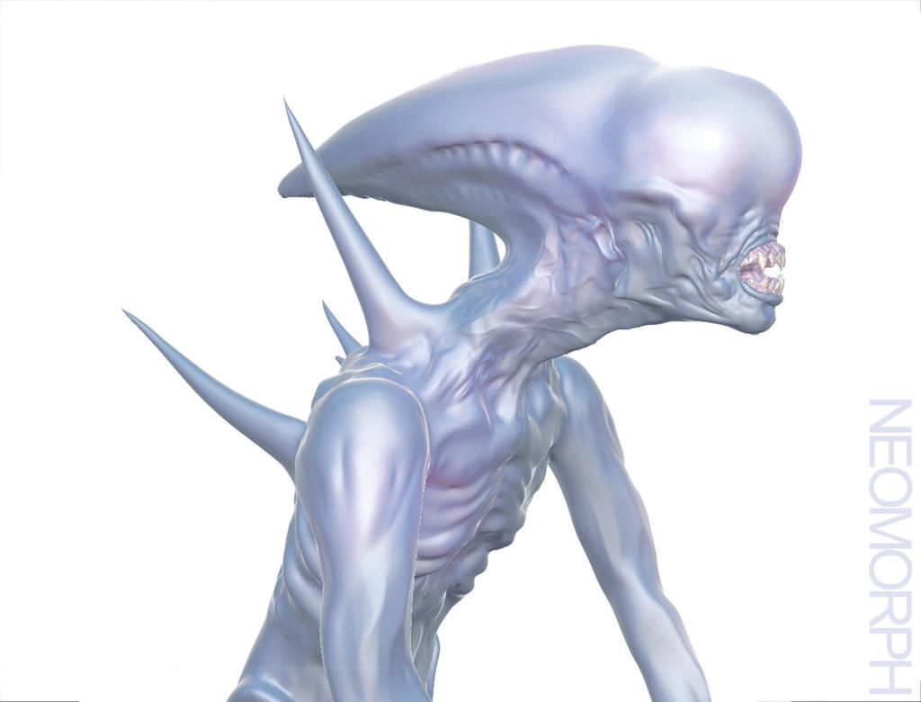 Neomorph - Alien: Covenant by Harnois75
