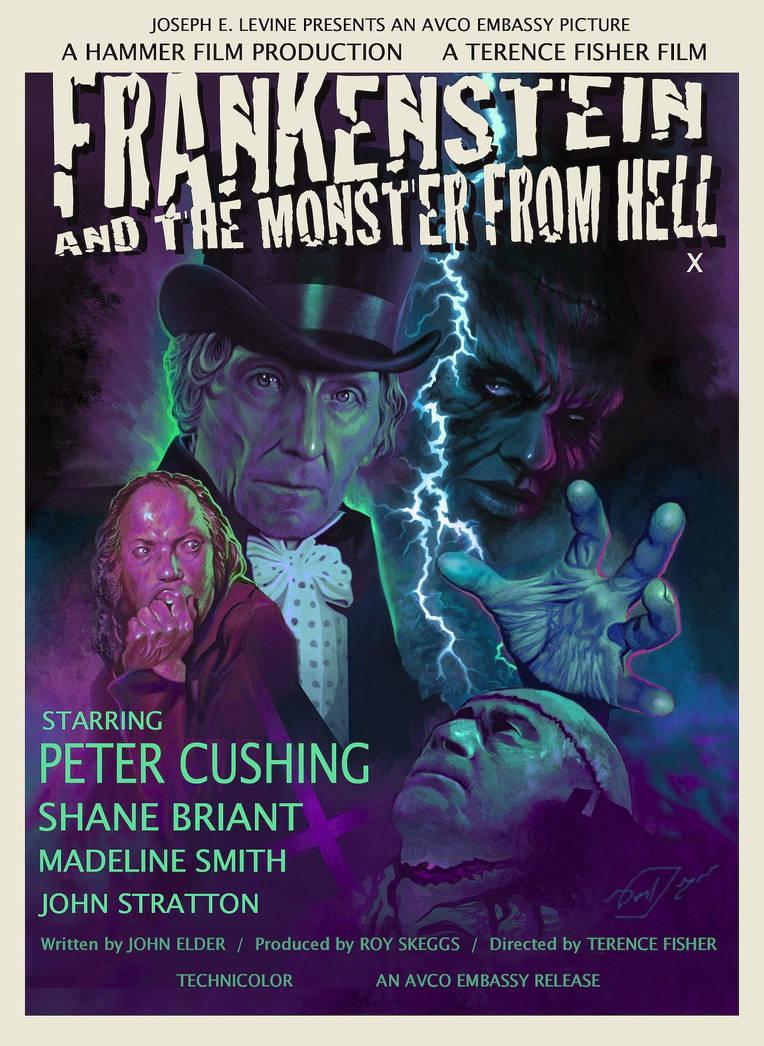 Frankenstein / Monster from Hell - Poster edit by Harnois75