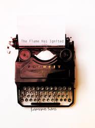 Typewriter by DesireeCuppycake