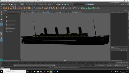 MAYA Titanic Build by FleetAdmiral01