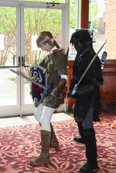 Me and Dark Link by LinkInSpirit