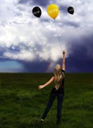 Never Let Go of Hope by LinkInSpirit