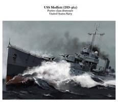 USS MOFFETT by dugazm
