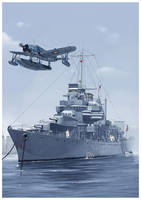 USS Erie (PG-50) by dugazm