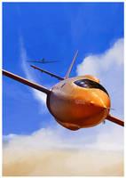 Bell X1 Glamorous Glennis by dugazm