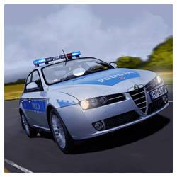 Alfa Romeo 159 by dugazm