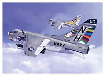 A7e Corsair Navy by dugazm