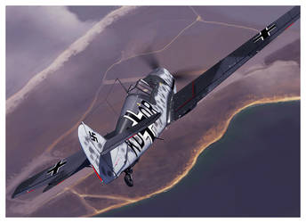 Bf 109 T prototype by dugazm