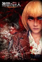 Shingeki no Kyojin - Armin Arlert by crystalfirey