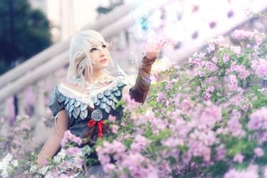 Final Fantasy XIV : Heavensward Au Ra by crystalfirey