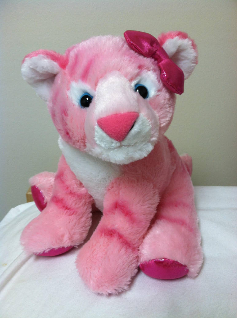 Girlz Nation Pink Tiger Plush Luna By Wolfywillow On Deviantart
