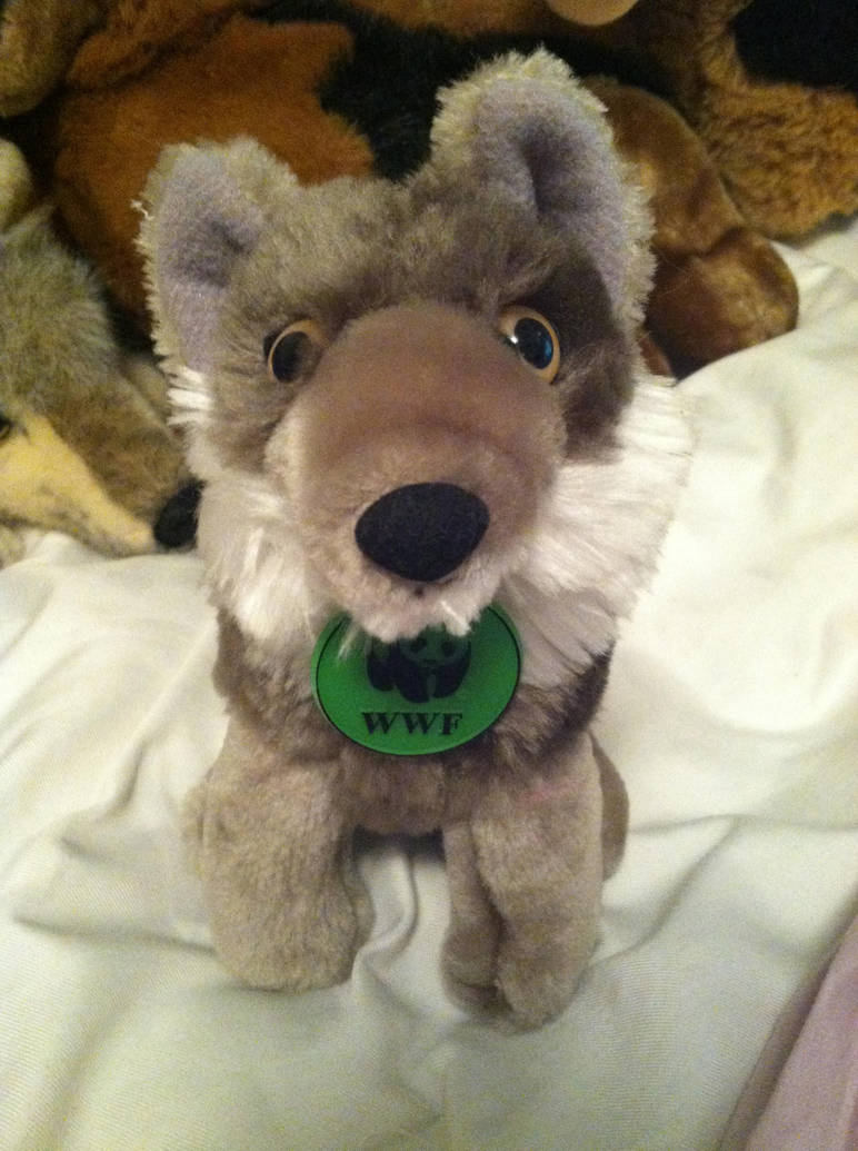 Applause Wwf Small Wolf Plush Mario By Wolfywillow On Deviantart