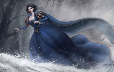 Snow white - Run away by ChubyMi