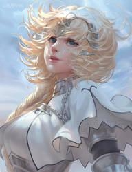 Jeanne d'Arc fate by ChubyMi