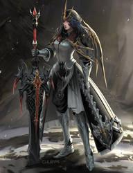 Warrior by ChubyMi