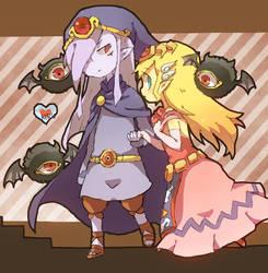 Vaati+Zelda by KIRU75