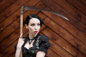 scythe by JustRiven