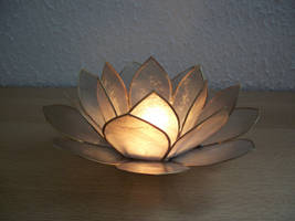 The lotus candle by Cycy-stock