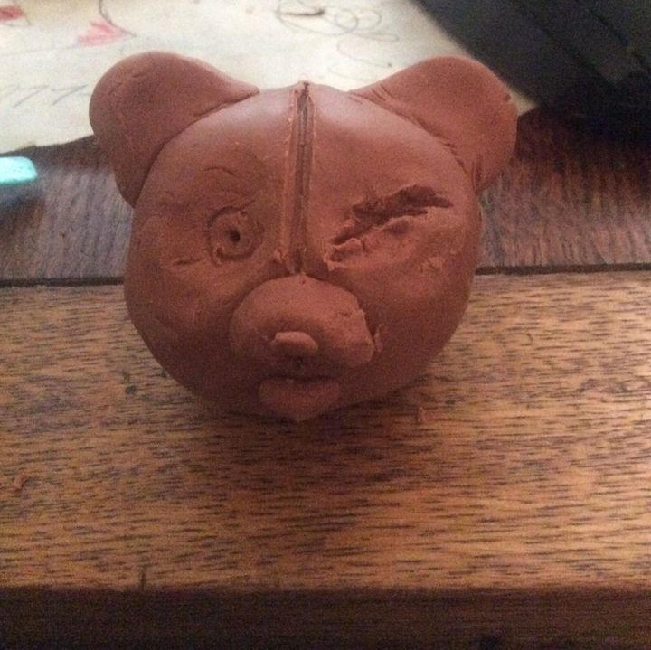 clay monokuma by doomqwer