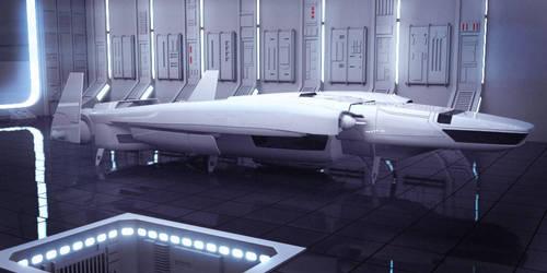 Star Wars Imperial Shuttle by AdamKop