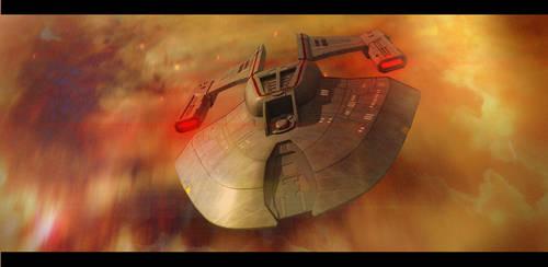 Star Trek Norway Class by AdamKop