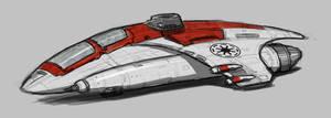 Star Wars Republic Fighter by AdamKop