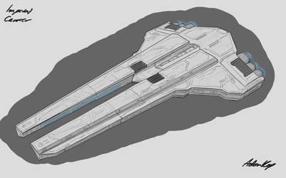 Star Wars Imperial Carrier by AdamKop