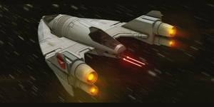 Star Wars Slayn Korpil Fighter 2 by AdamKop