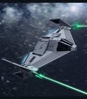 Star Wars Imperial TIE Fighter 3D by AdamKop