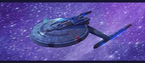Star Trek Centaur Class by AdamKop
