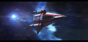 Star Wars Incom T-75 M-Wing by AdamKop