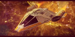 Star Wars Koensayr Fighter/Bomber 3D by AdamKop