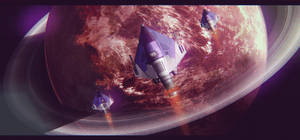 Star Wars Incom R-10 Squadron by AdamKop